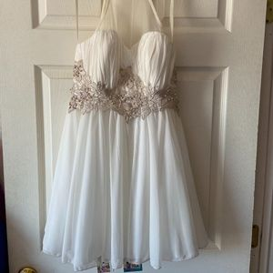 White Prom/Homecoming Semi-Formal Dress